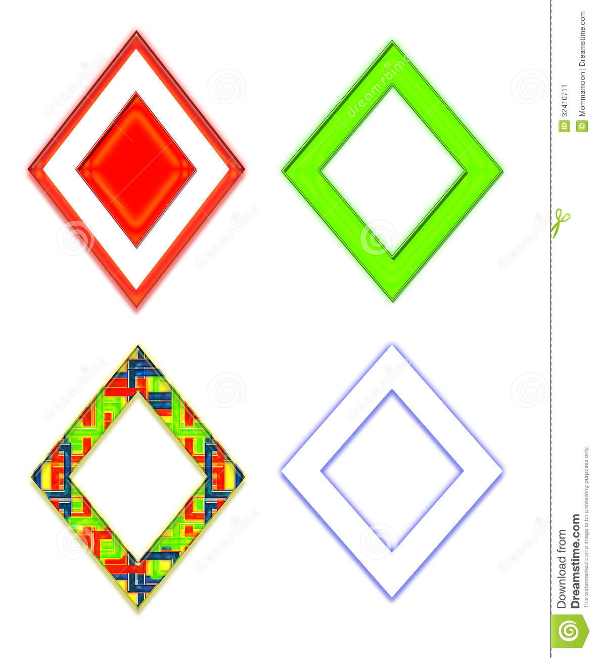 Diamond clipart colorful Images Art Free Shape Diamond
