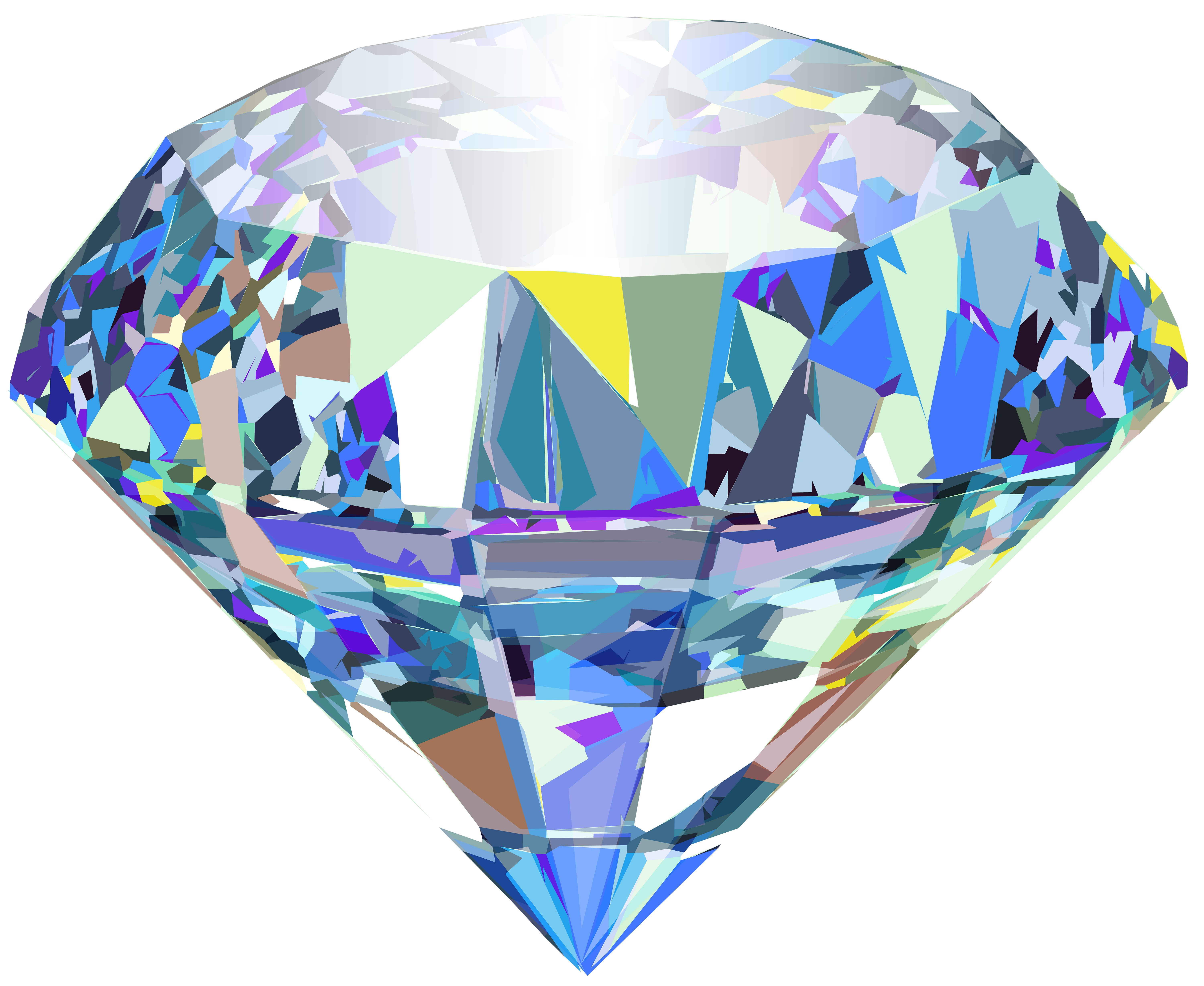 Diamond clipart crystal  Gallery Transparent size full