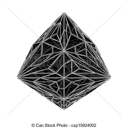 Crystals clipart diamond Crystal Crystal Diamond of csp15924002