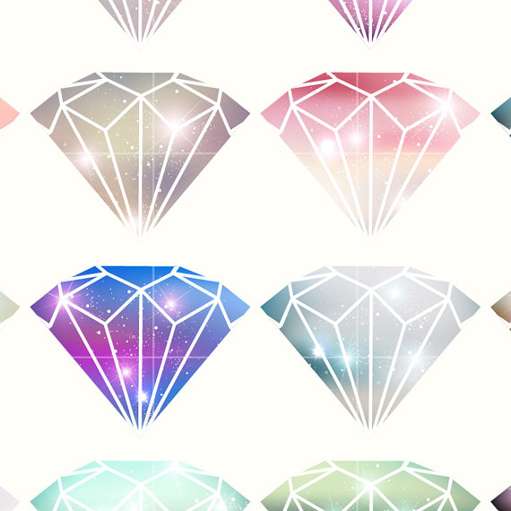 Crystals clipart diamond Is Digital Crystal Diamond Space