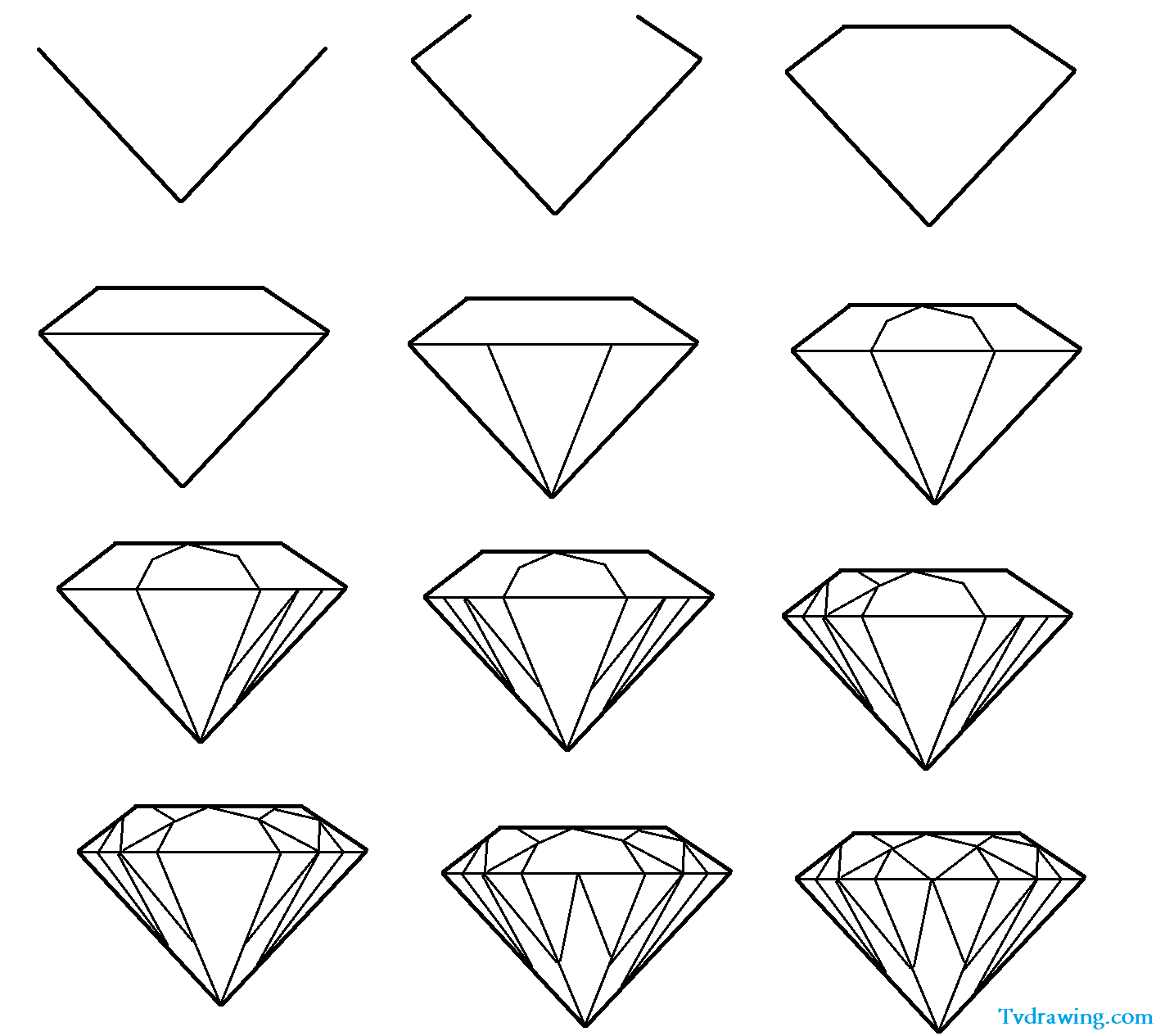 Diamond clipart easy Com/pictures1/diamond Google  Result Google
