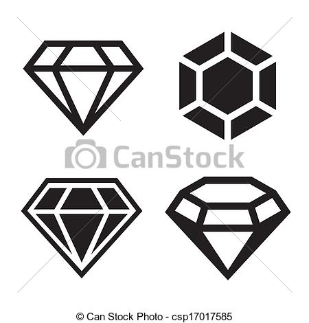 Diamond clipart easy Shape Easy  Diamond clear