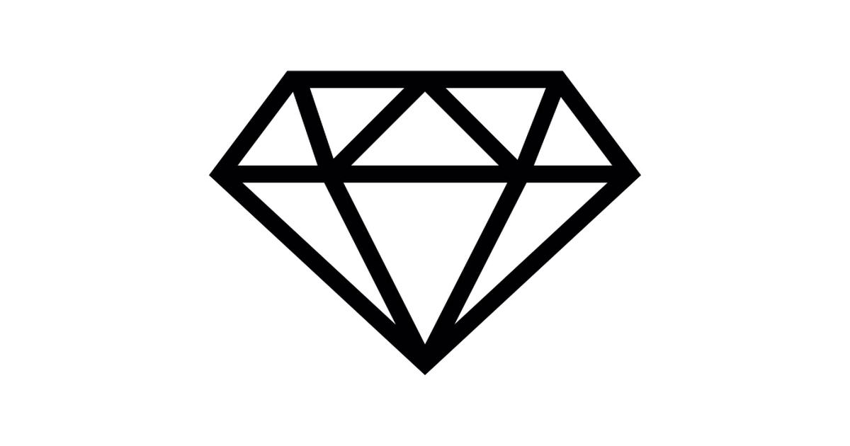 Diamond clipart emoji Icons Small Free diamond fashion