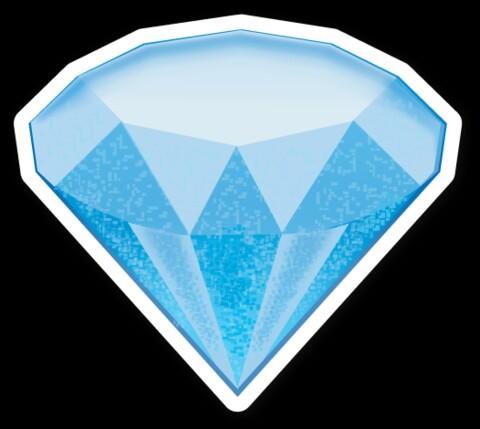 Diamond clipart emoji ~ Diamond Pinterest ~ WhatsApp