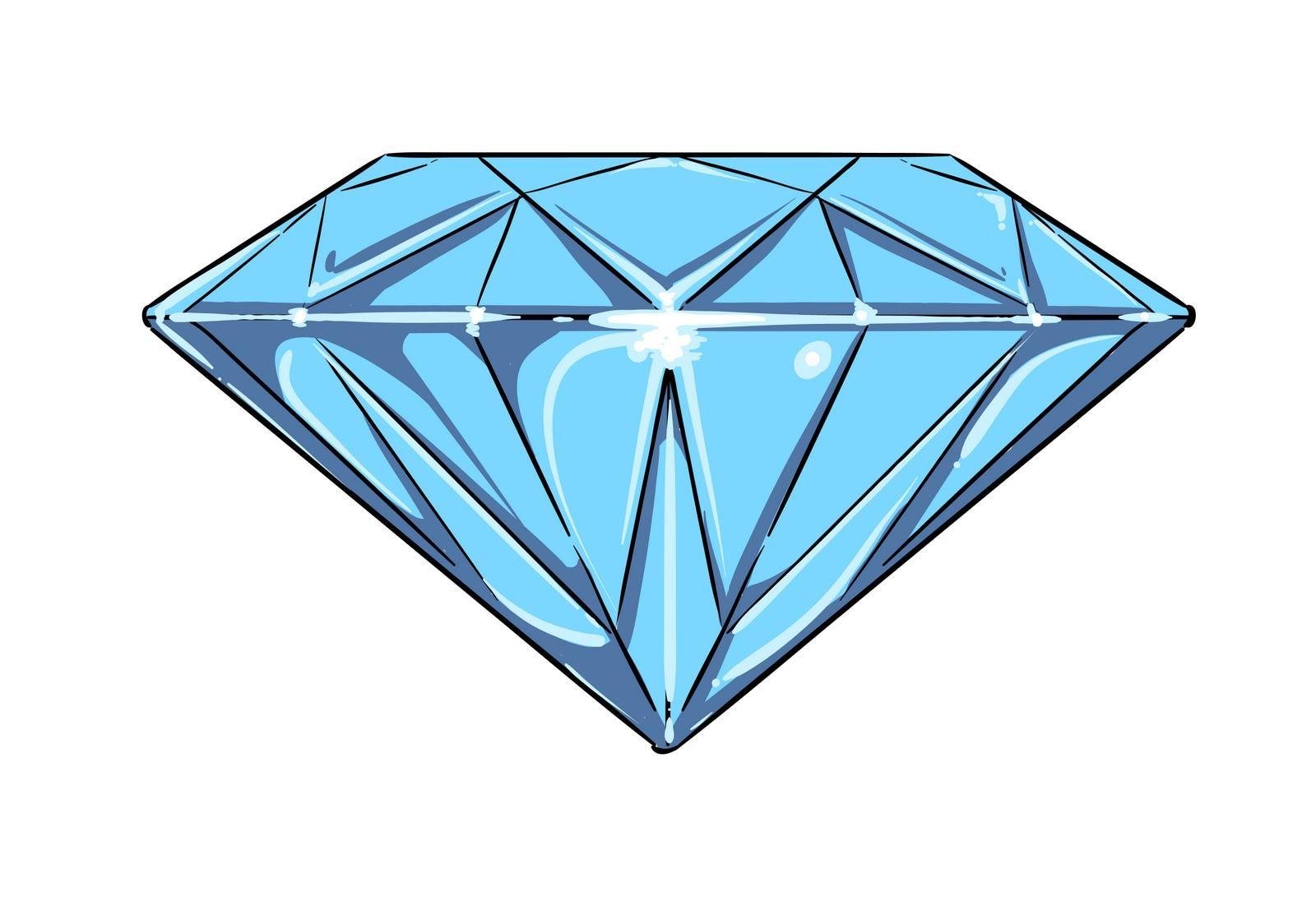 Diamond clipart line art Diamond Art Design Free