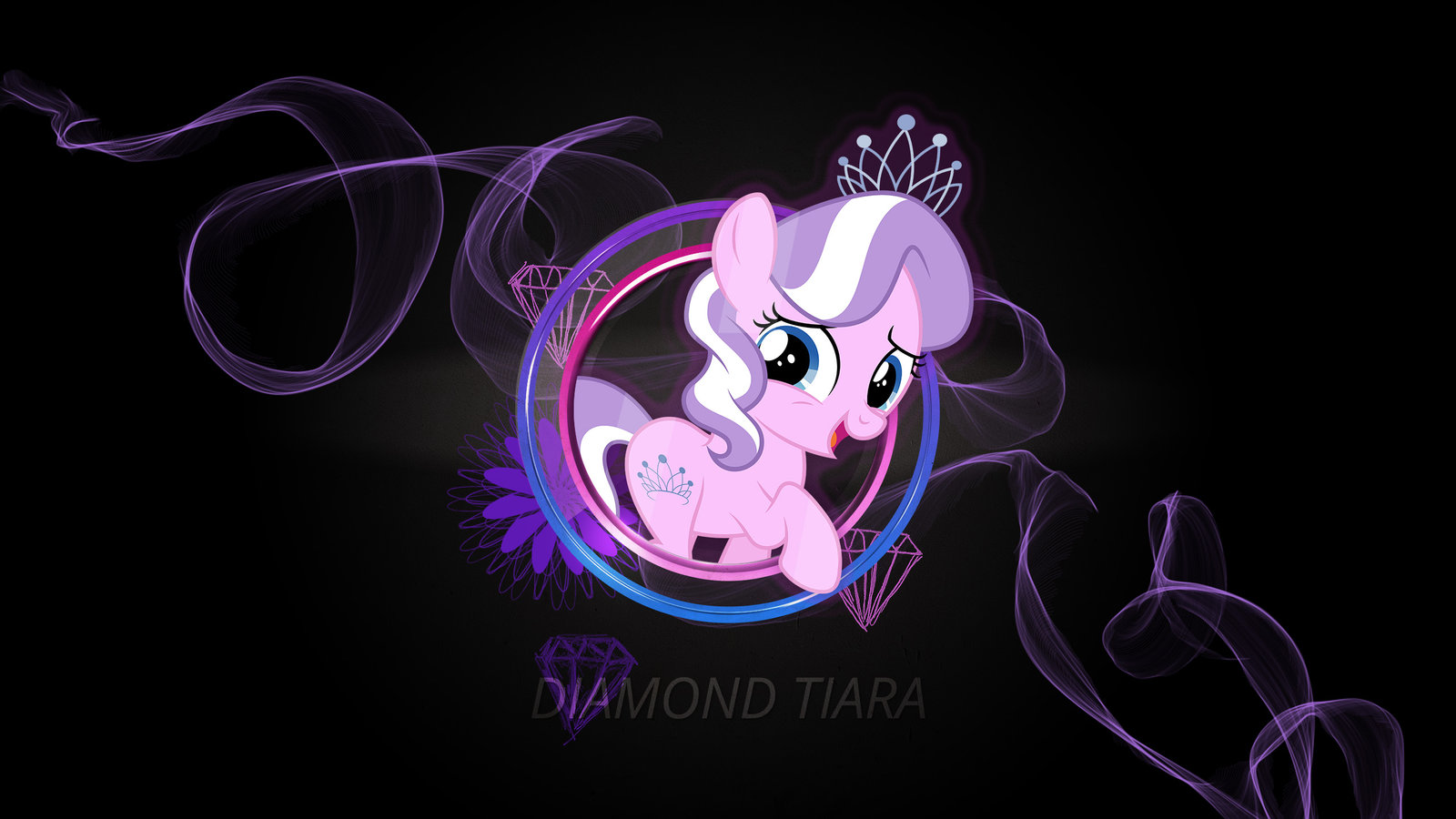 Diamond clipart neon Wallpaper Tiara Neon by on