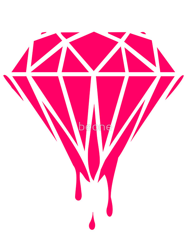 Diamond clipart neon Diamond beone by by beone