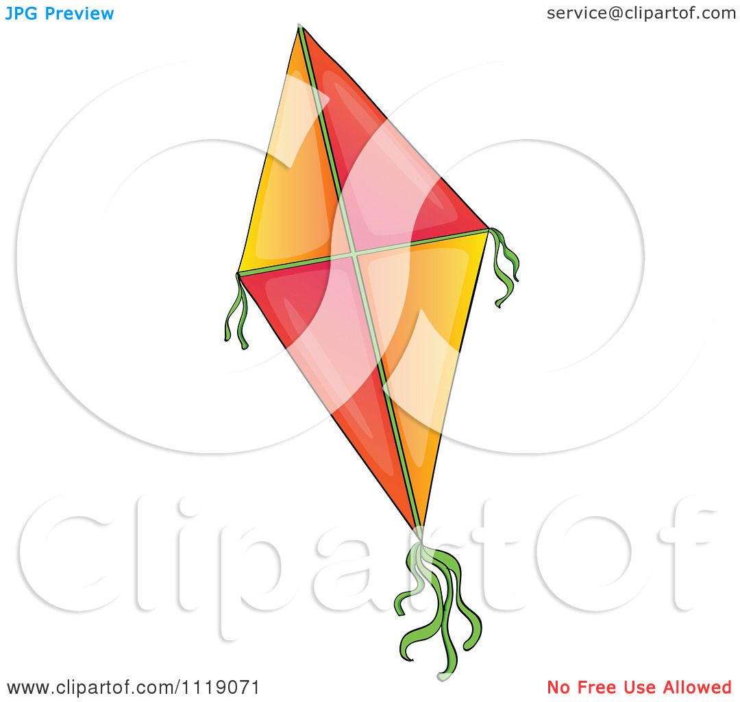 Diamond clipart objects Collection kite A Vector clipart