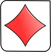 Diamond clipart playing card Playing Diamond Symbol Playing Art