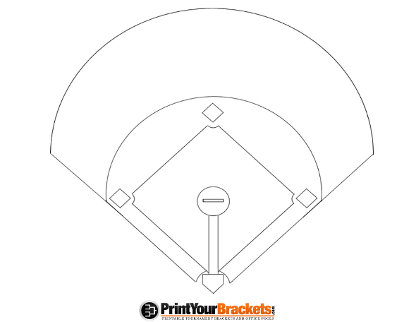Diamond clipart printable Diamond Baseball Baseball Diagram Diamond