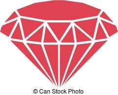 Diamond clipart red diamond Illustrations 878 Red  Diamond