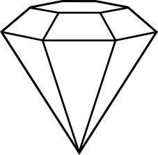 Diamond clipart retro Search art clip Google Google