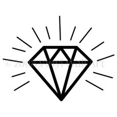 Diamond clipart pile diamond Diamond images Sketch Art Clip