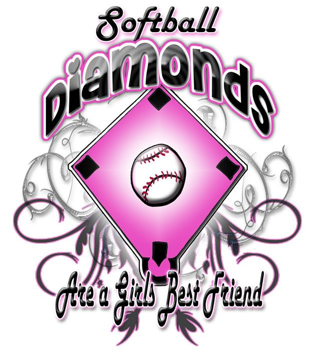 Diamond clipart softball diamond Girly Diamond Download Softball Diamond