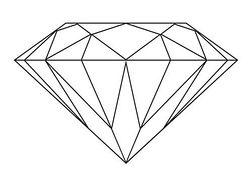 Diamonds clipart #7