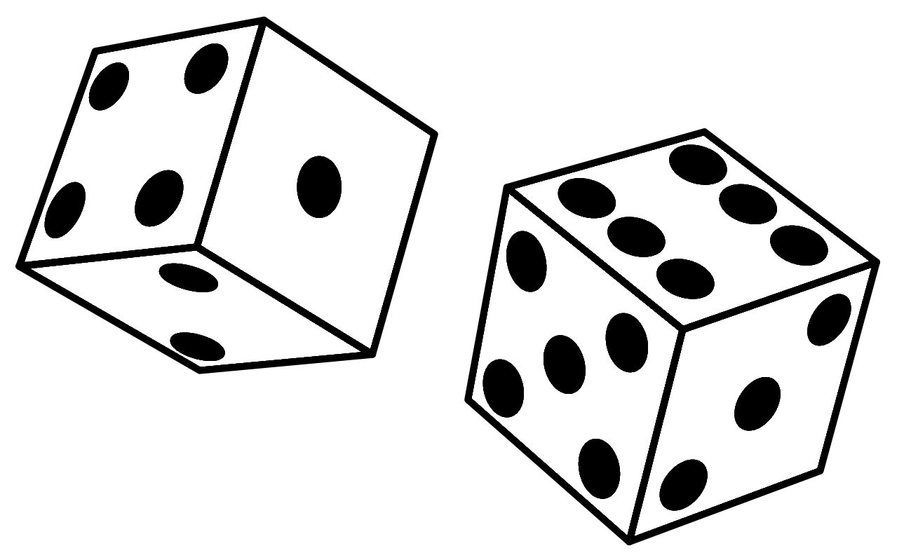 Dice clipart number four Dice Clipart Panda Free 1