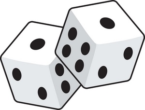 Dice clipart happy One Dice Clipart Free Pictures