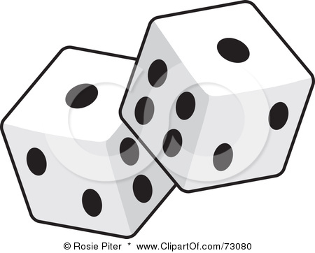Dice clipart black and white Dice #dice_1 dice  art