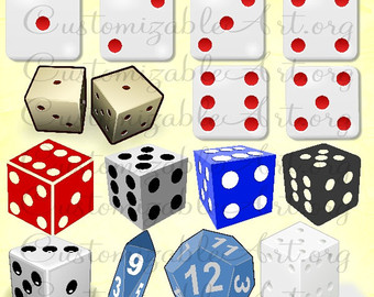 Dice clipart card game Game Clipart Black Dice Playing