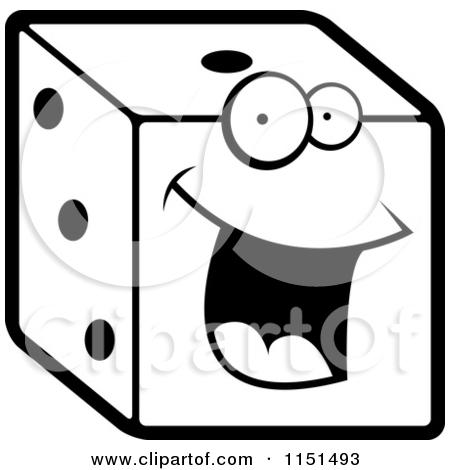 Dice clipart cartoon Dice dice Clipart #37 64