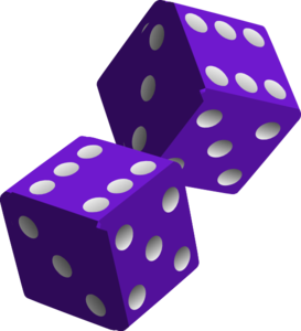 Dice clipart cute Dice two Dice  1