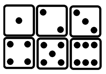 Dots clipart dice Dice ClipartMe collection clipart Printable