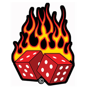 Dice clipart flames Clipart Free Flames Panda Clipart