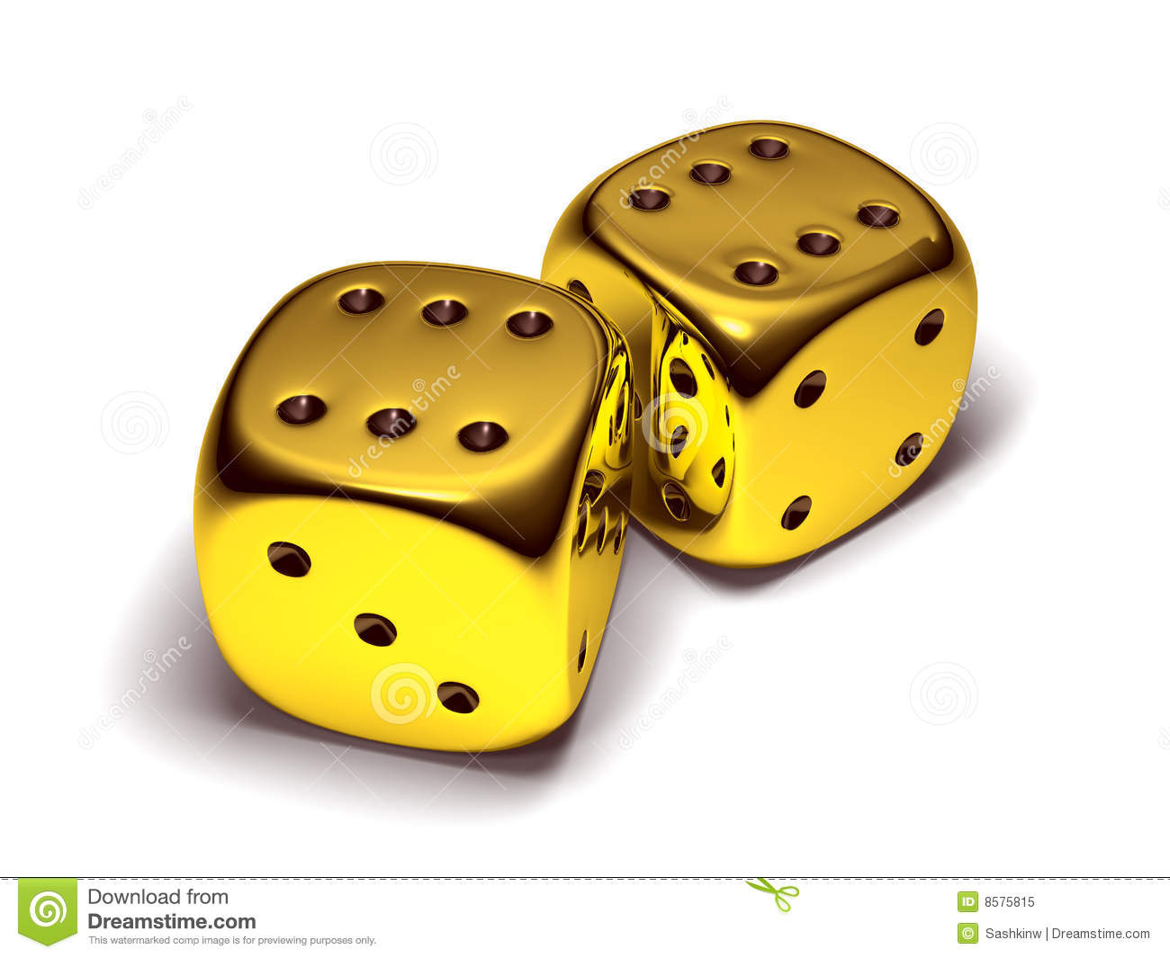Dice clipart gold Golden Gold Photo Lucky Photo
