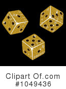Dice clipart gold Dice Gold Free #1 #1049436