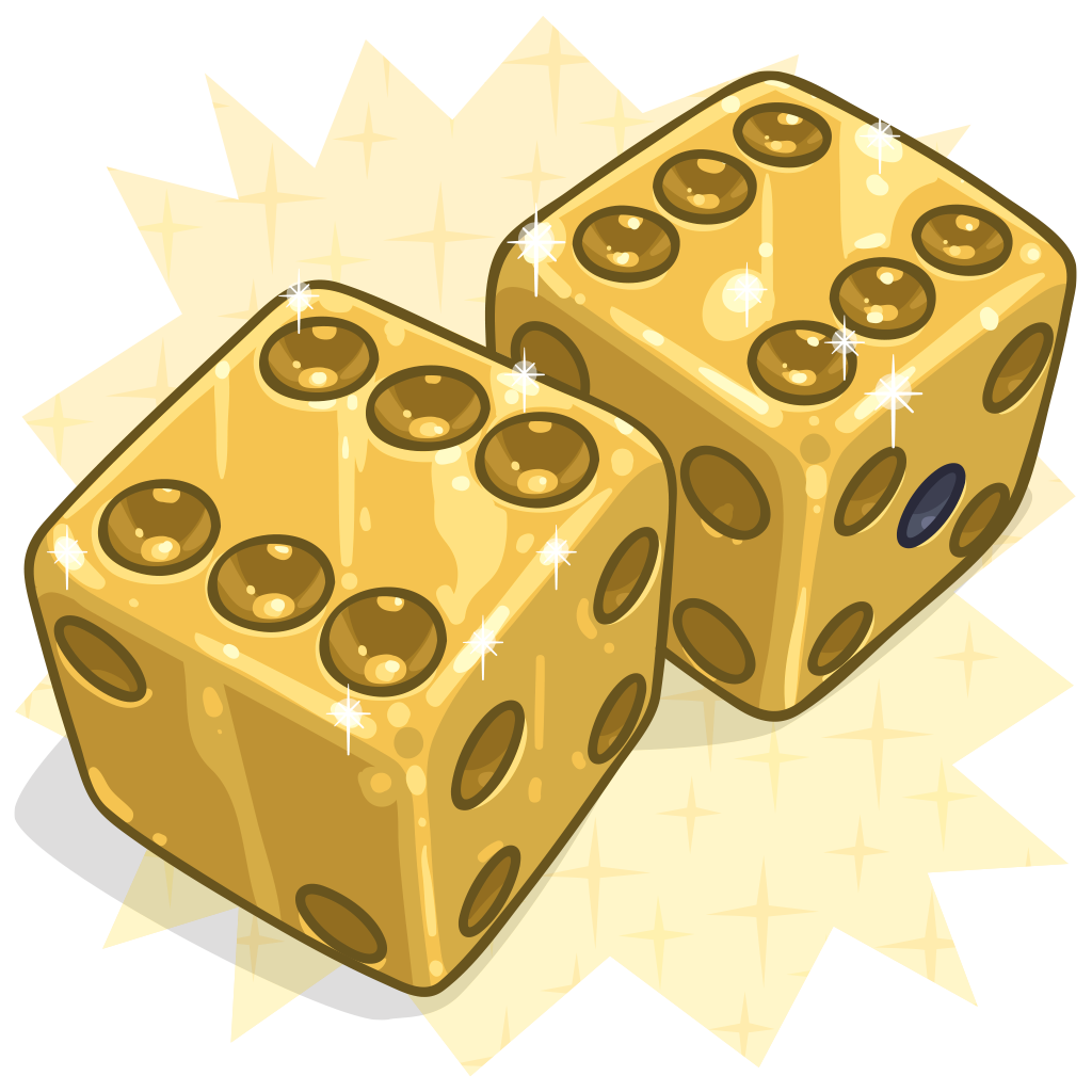 Dice clipart gold Detail Item :: Dice Me