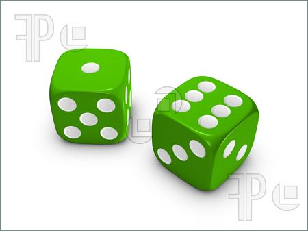 Dice clipart green Dice Green Dice Pinterest e