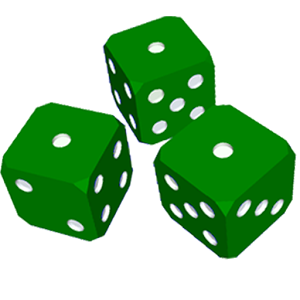 Dice clipart green Clip art dice Dice (9+)