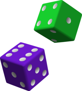 Dice clipart green And com vector Clker clip