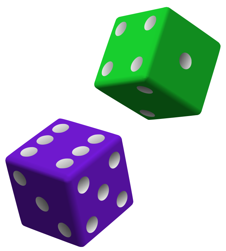 Dots clipart dice Clipart Clipart Images one%20dice%20clipart One