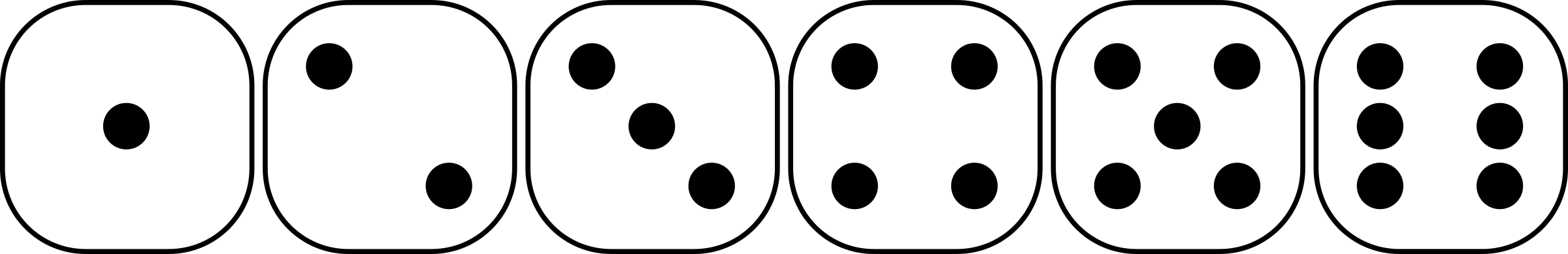 Dice clipart six sided Faces dice six faces sided