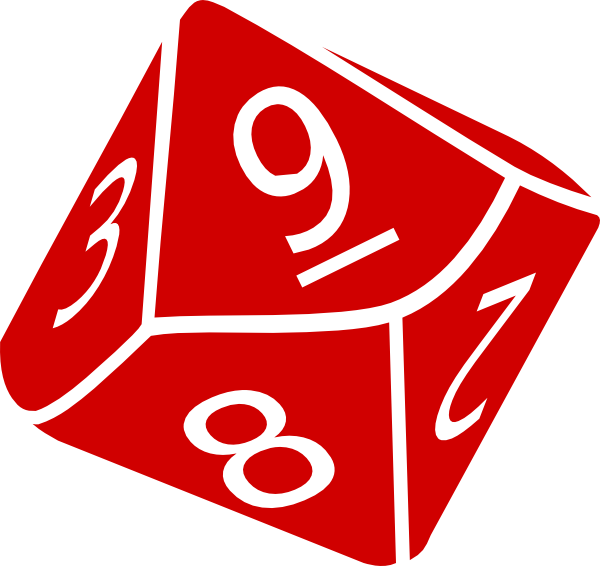 Dice clipart six sided At royalty vector clip Sided