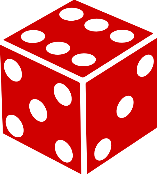 Dice clipart six sided Clipart and Clipart Others Cliparts