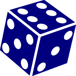 Dice clipart six sided Clip Art Dice at Clip
