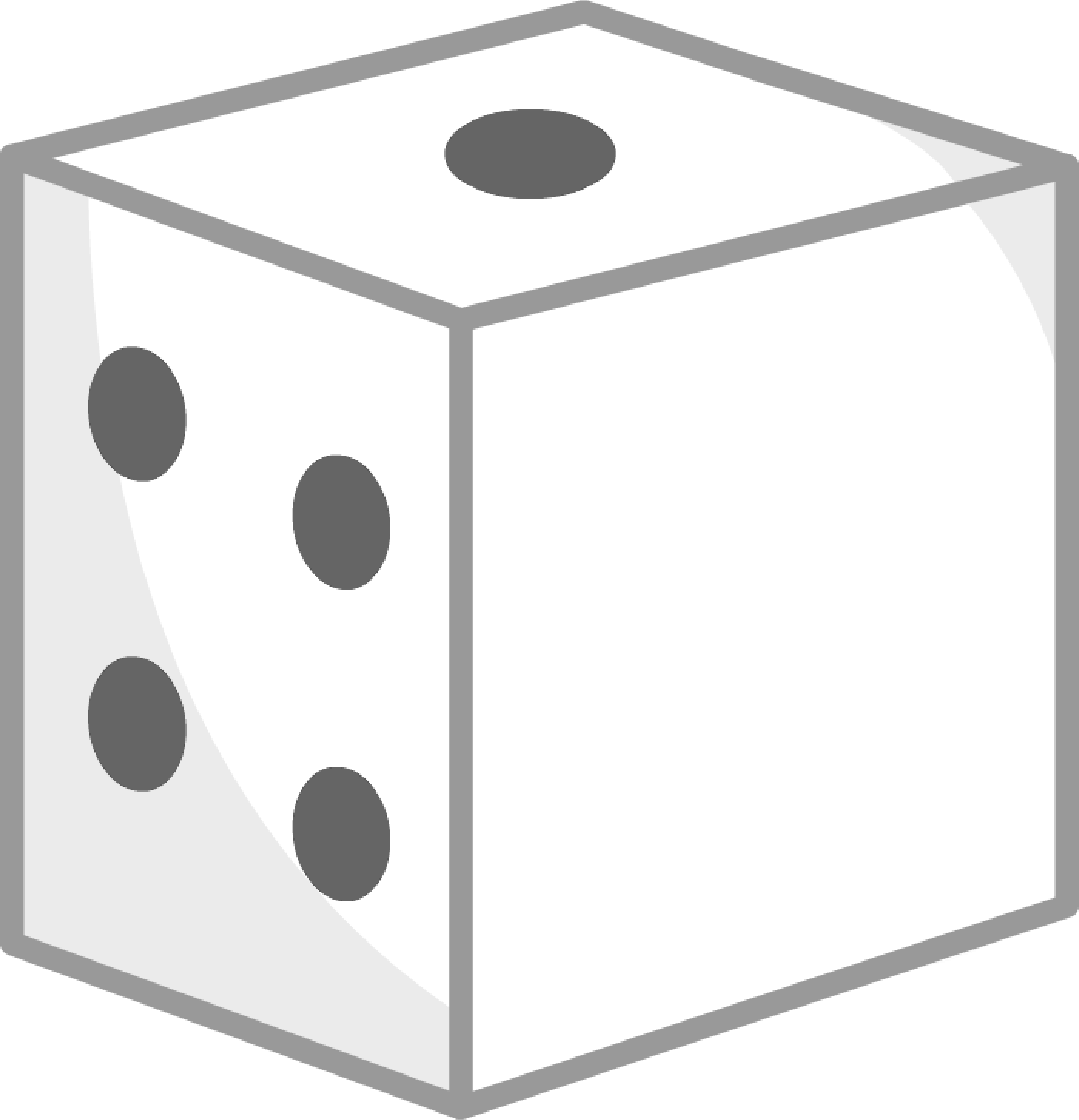 Dice clipart square object Object Dice/die by png Wikia