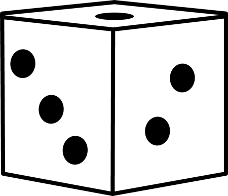 Dice clipart table game  Game Game For teachers