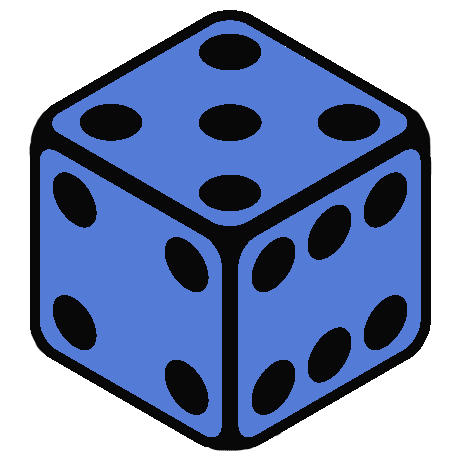 Dice clipart table game Dice only Rollable issues from