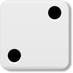 Dots clipart dice Dice Art royalty Clker at