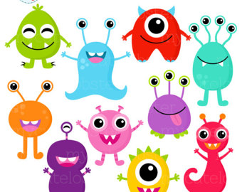 Monster clipart cute monster Cute Personal for 2 for