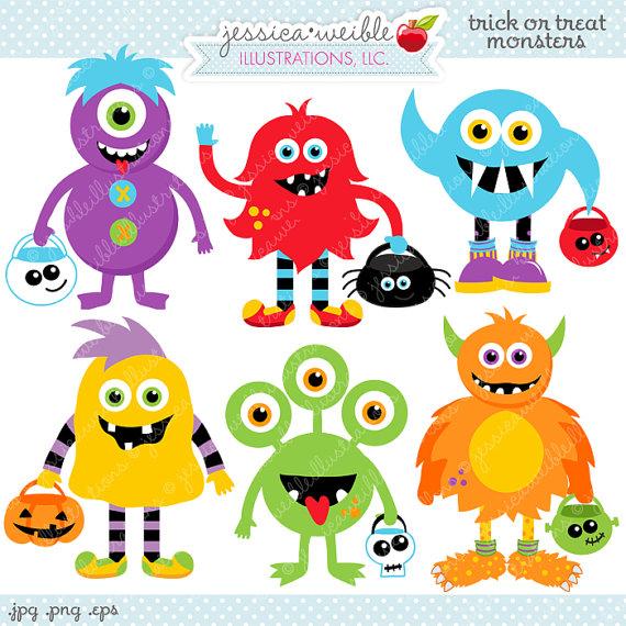 Monster clipart halloween monster #5