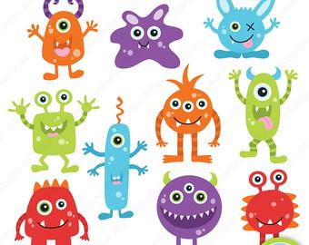 Monster clipart cute monster Clipart 10 of monsters Cute