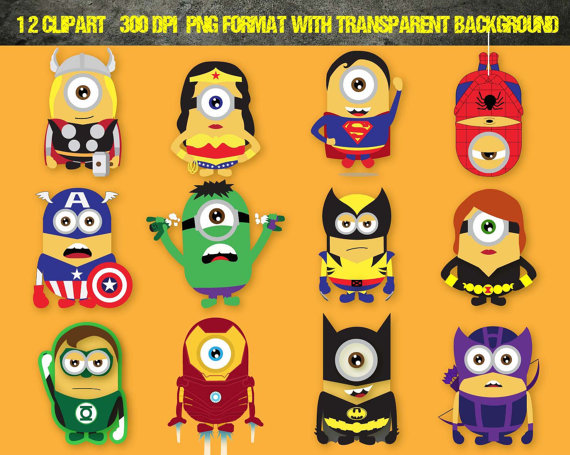 Despicable Me clipart printable Despicable Disney 12 Me