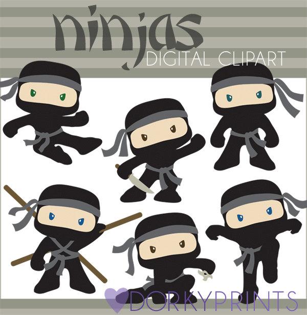 Ninja clipart baby boy #4