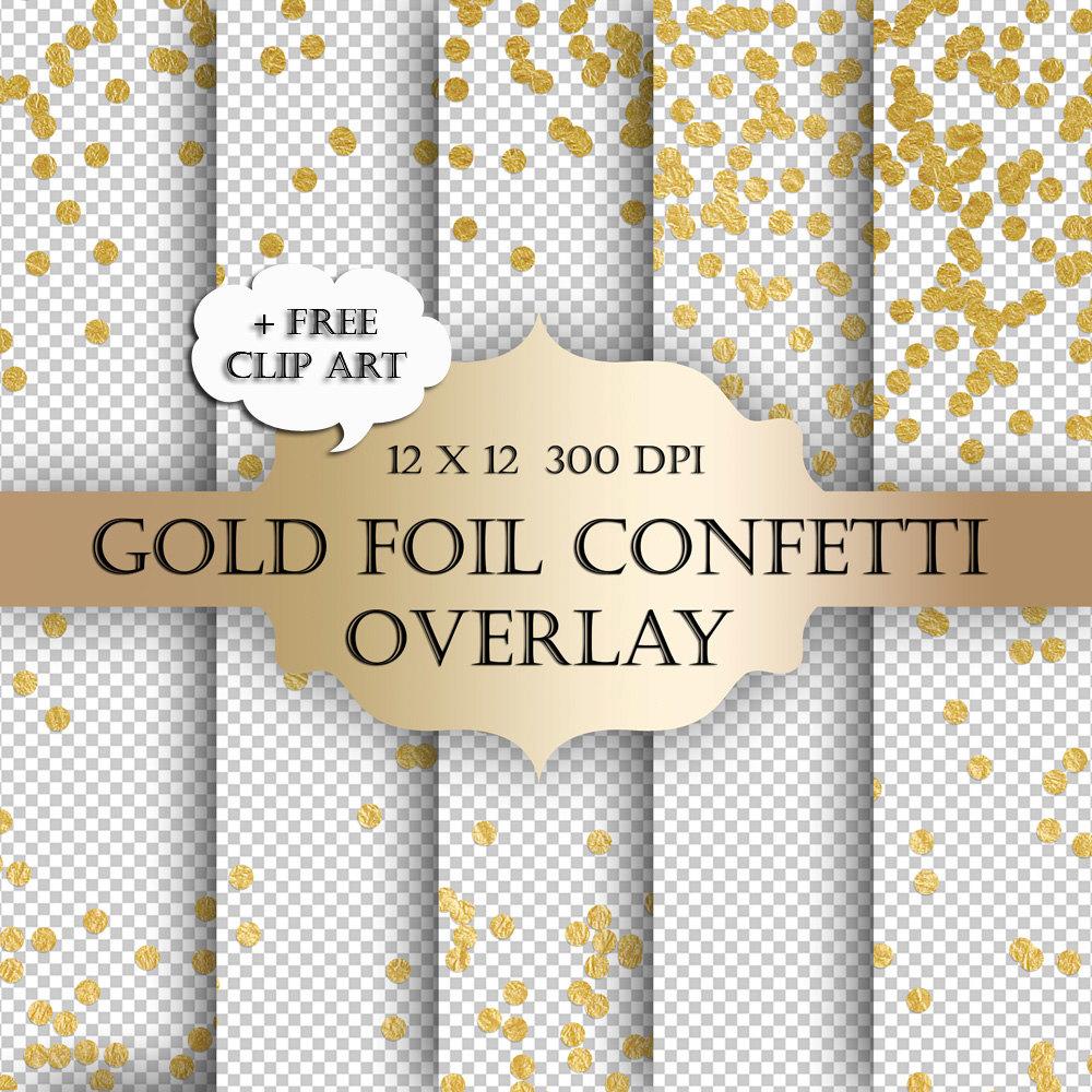 Dots clipart confetti Confetti christmas glitter scrapbooking Digital
