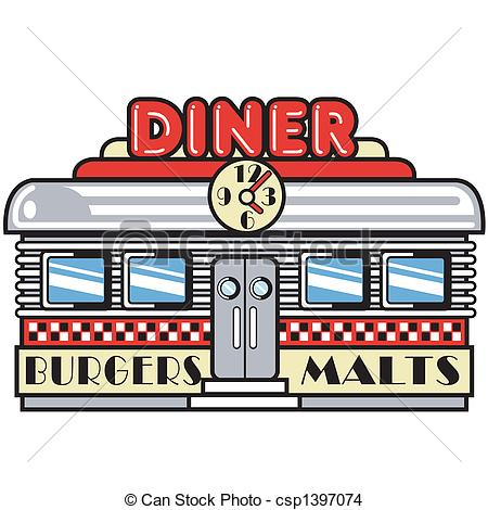 Diner clipart Clip arrow sign Diner Diner