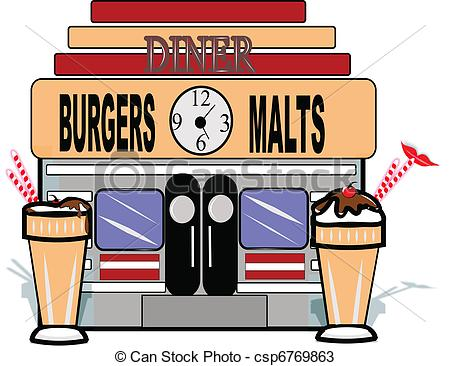 Diner clipart This 35KB white on Tattoo